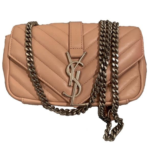 FLASH SALE Saint Laurent Matelassé Chain Bag. M 5c34d927a5d7c6778587bd94 07f8d9a30f2b6